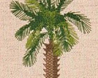 The Palmetto Tree in Counted Cross Stitch CHART ONLY