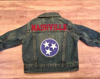 Nashville Tri Star Denim Jacket
