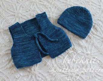 Bebeknits Bambino Newborn Set Knitting Pattern