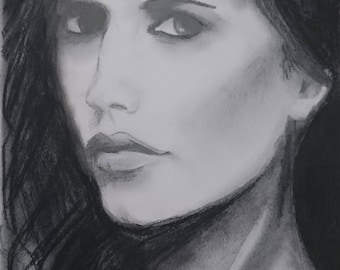 Portrait of Actress Eva Green