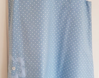 Blue Spot Girls Pinafore Dress Age 6 years (Cath Kidston fabric)