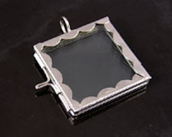 Frame pendants etsy postage stamp frame pendants rectangle 2 ea g233479 mozeypictures Gallery