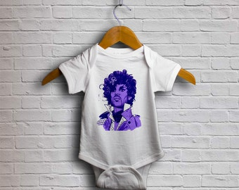 Prince Nelson Rodgers Baby Bodysuit