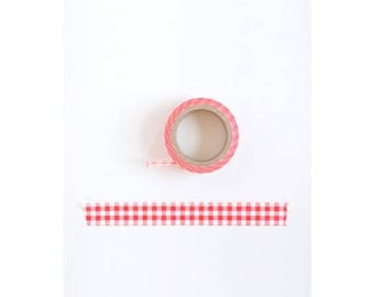 Washi Tape Masking Tape red #SR0201