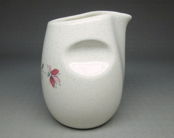 Franciscan DUET ( rose ) creamer , California pottery