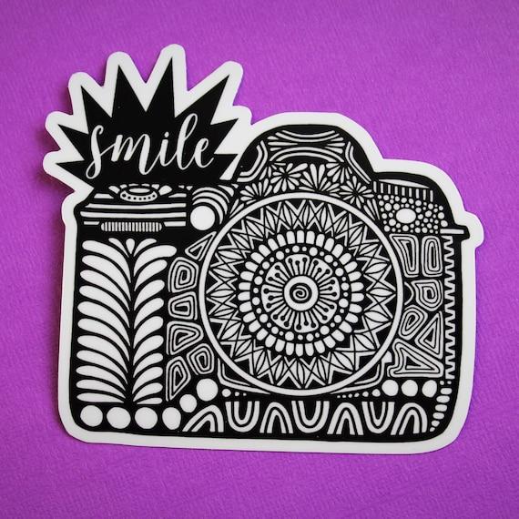 Smile Camera Sticker