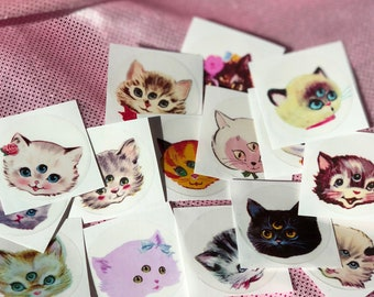 3 Eyed Kitty Stickers Set SiDeShOw III