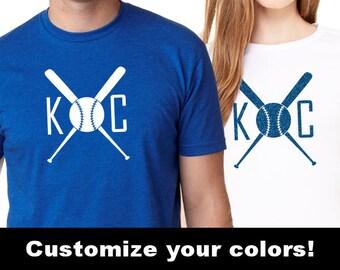 KC Royals Tshirt, Kansas City Royals Shirt, KC Baseball Shirt, Baseball Shirts Men Women, Kansas City Shirts, KC Royals Shirt