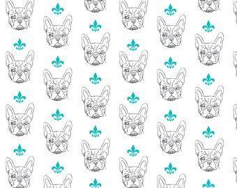 French Bulldog Wrapping Paper Sheet, Frenchie Gift Wrap, Frenchie Craft Paper, Frenchie Scrapbook Paper, French Bulldog Paper