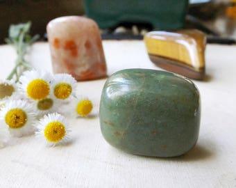 PROSPERITY crystal set - Aventurine, Sunstone, Tigers Eye, Set of 3, crystal healing