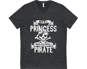 Princess Pirate, Princess Princess Princess TShirt, Pirate Pirate, Pirate Tshirt