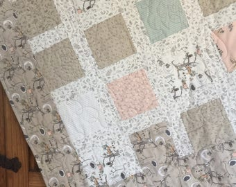 Adorable Pieced Baby Quilt