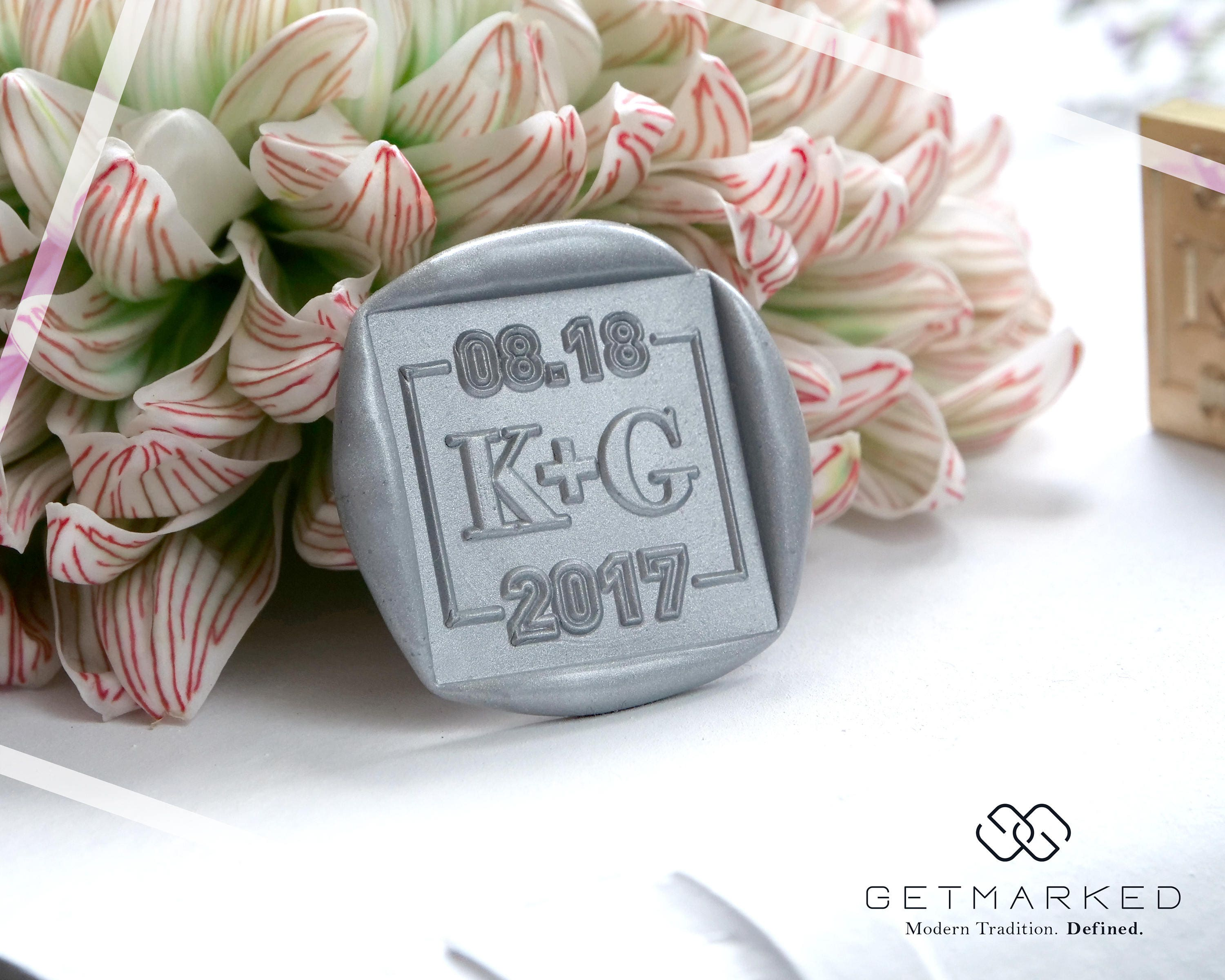 I Do Customized Wedding Wax Seal Stamp Template By Get