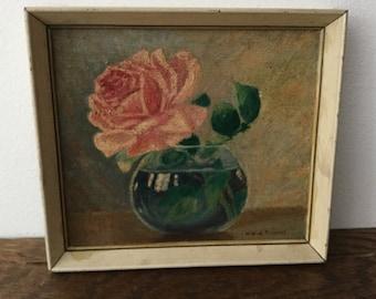 SALE*****MILDRED POISSANT Original Oil on Canvas    Original Oil Painting Signed