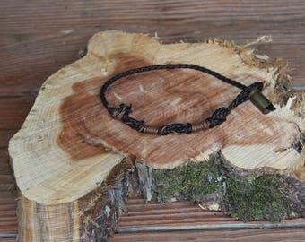 Male/Female Leather Bracelet