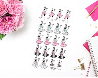 Will Clean For Shoes | Addie Collection | Planner Stickers
