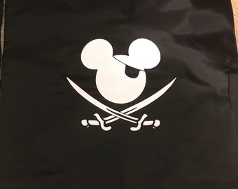 Pirate Mickey Mouse sling backpack