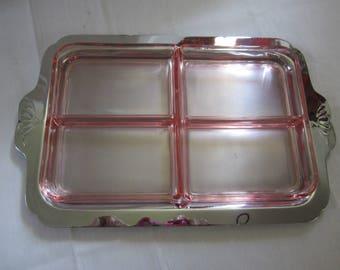 1936 Farberware Hostess Tray