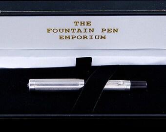 Sterling silver Eclipse fountain pen Canada 1930s