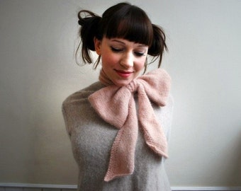 bo peep scarf KNITTING PATTERN