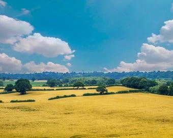 English Countryside. Photography Print