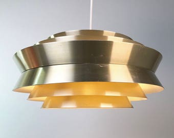 Classic large ceiling light by Carl Thore, Sweden 1960s.