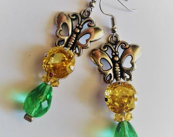 With their Butterfly glass cabochons