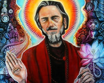Alan Watts 18x24 poster