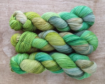 Wildflower (OOAK) sport sock yarn - Merino/Nylon  (328 yards) sport weight