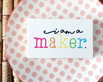 MINIBLOCK BLOWOUT! Selah Signs I am a Maker miniblock