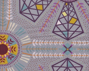 Free Spirit Fabrics Kathy Doughty Horizons Wind Power in Moody - Half Yard