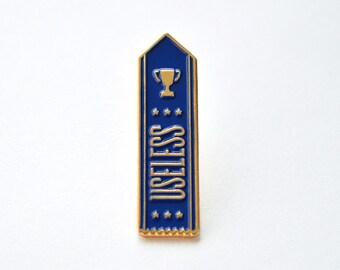 Useless Ribbon Pin