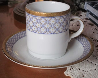 Bavarian espresso cup and Saucer