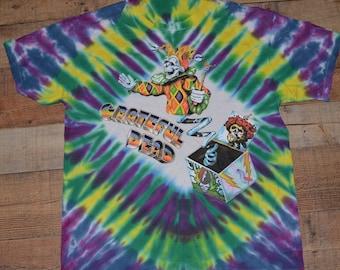 1995 VINTAGE GRATEFUL DEAD t shirt tie dye