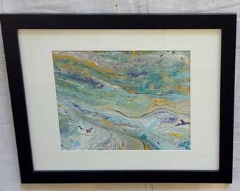 Acrylic Abstract 8x10
