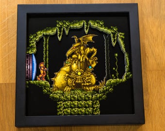 Super Metroid - SNES Shadowbox