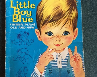 Little Boy Blue Finger Plays Old and New, 1966