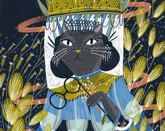 Cat Lady | Space Beam