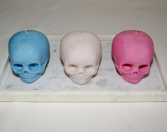 1:1 Scale Human 30 Week Old Fetal Skull Candle