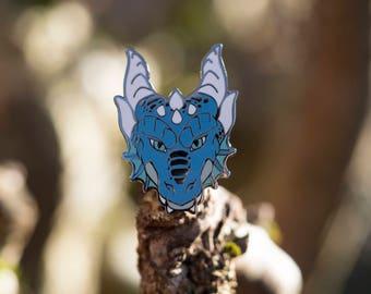 Water Dragon Hard Enamel Pin