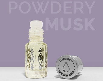 Powdery Musk - Pure fragrance oil perfume