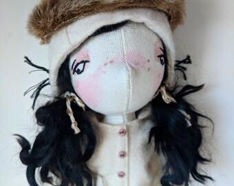Maxine- handmade doll, art doll, ooak doll, doll