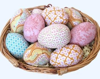 Simple Easter Eggs- Sewing Pattern