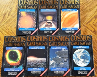 """Cosmos """"A Personal Voyage"""" complete original collection with Carl Sagan"""