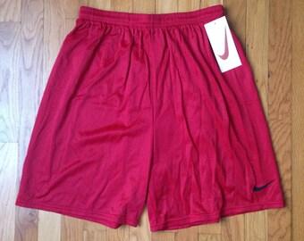 vintage nike white tag shorts men's size XL