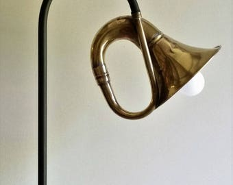 retro lamp Horn switch on base