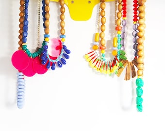 Jewellery Organizer, Faux Deer Antler Jewlery Holder, Wall Hooks, Scandinavian Design