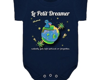 Little Dreamer/ Little Dreamer baby/ Ohana baby/ cute baby clothes// baby onesie/baby snapsuit