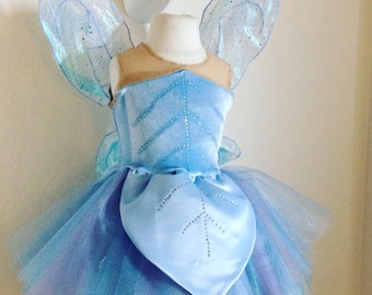 Periwinkle costume and wings