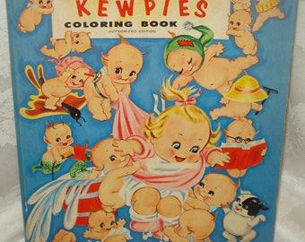 Vintage Kewpie Doll Coloring Book